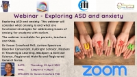 21TRA241  Exploring ASD and Anxiety