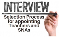 21TRA245 The Interview Selection Process for appointing Teachers and SNAs - A Training Webinar for Chairpersons of BOMs and for Principals of Primary Schools