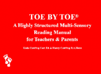 20TRA524 Toe by Toe online Training for Teachers & SNAs